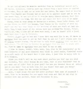 letter from a prisoner 10002
